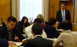 Vi Russian affilate students in Geneva for third study visit