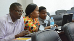 A group of 25 lecturers, PhD candidates and Master's students in international trade and international business, honed their skills on the use of the Stata software for trade analysis and the gravity model during a Vi workshop funded by the One UN Fund for Tanzania at Vi core member, University of Dar es Salaam (UDSM) Business School. Delivered by Vi economist, Cristian Ugarte, the training took place December 2-5.