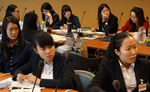 Chinese students in Geneva for fifth Vi study tour
