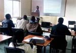 Willy-Marcel Ndayitwayeko, of Vi core member, Université du Burundi, delivered courses for Master's students at affiliate member, Kenya's Moi University, May 9-21