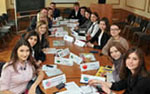 Russian students model G20 negotiations