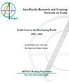 Trade Costs in the Developing World 1995-2010