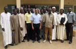 Participants of the Vi workshop on the econometric analyisis of commodity-related issues for Chad