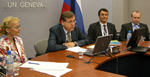 Videoconference for Russian members on Technology Innovation Report 2010