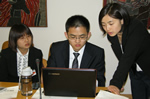 28 students participated in the third Virtual Institute study tour for core Chinese member, UIBE