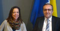 Vi's Susana Olivares (left) and UNCTAD's Igor Paunovic