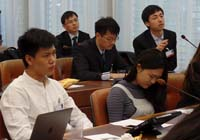 Participants of the 7th annual Virtual Institute study tour for Chinese member universities